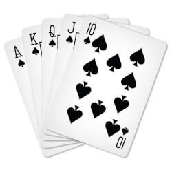Speelkaarten verdelen